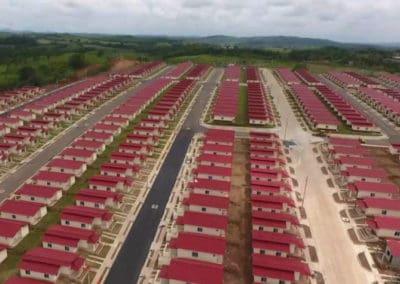 البايورياكتور في منطقة سكنية جديدة في بنما – إعادة استخدام المياه