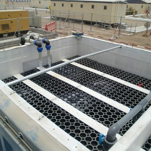 BioKube compact wastewater treatment plants and packaged sewage treatment plants are primarily based on SAF