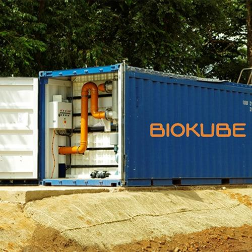 BioContainer wastewater systems are often used in oilfields for frequent relocation