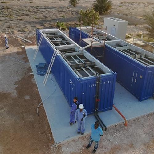 BioContainer are containerized wastewater plants with focus on easy relocation