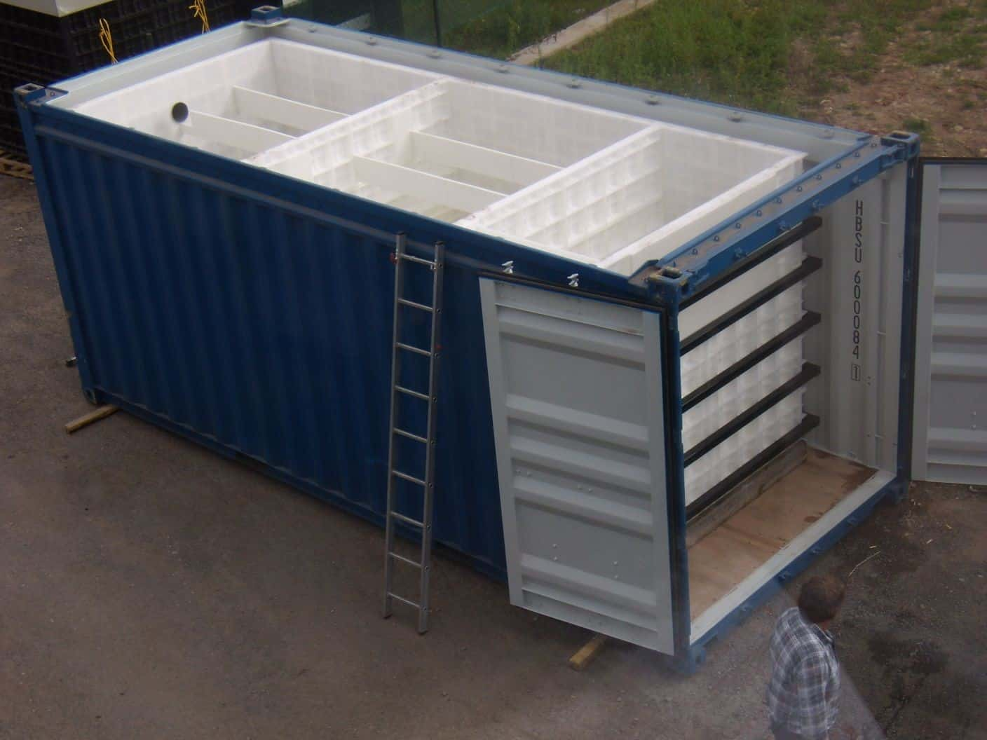 20 foot BioContainer under production