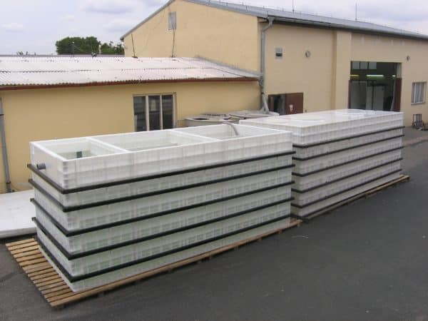 40 foot BioContainer under production