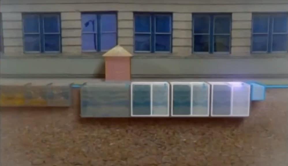 BioKube basic technology is based on SAF - Submerged Aerated Filters