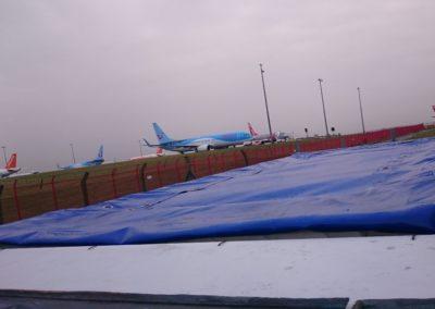 البايوكونتينر في مطار نيوكاسل