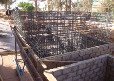 بايورياكتور قيد الانشاء في معسكر للنفط في ليبيا