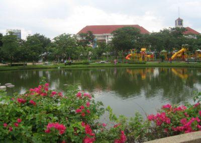 البايورياكتور في تاون هول في بانكوك