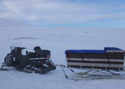 الجوبيترللمشي لمسافات طويلة على الجبال وسكن للتزلج في شمال السويد